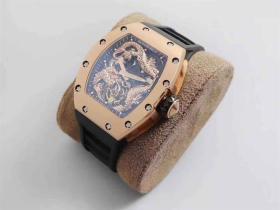 TW厂理查德米勒RM057成龙盘龙陀飞轮腕表-明星同款