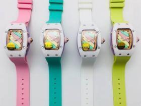 VSF厂理查德米勒RM07-03棉花糖腕表-来自百万棉花糖的甜蜜诱惑
