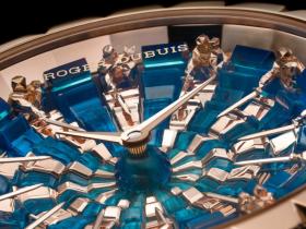 ZZ厂罗杰杜彼圆桌骑士王者系列腕表