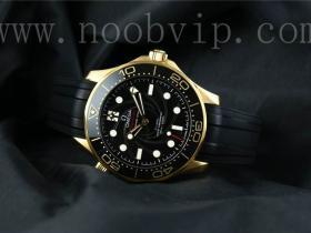 VS厂欧米茄海马300醉美黄金版007詹姆斯邦德腕表实拍图片鉴赏