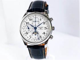 TW厂浪琴名匠月相八针复刻表深度评测-入门手表推荐