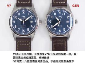 V7厂万国马克十八ETA2892机芯复刻表评测-真瑞士机芯