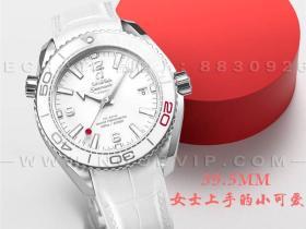 VS厂欧米茄海马600m39.5mm女士腕表评测-2020年东京奥运限定版