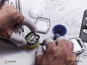 JB厂理查德米勒RM52-01真陀飞轮腕表对比正品评测