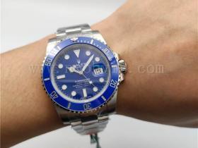 VS厂劳力士蓝水鬼116619腕表实拍评测