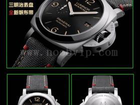 VS厂沛纳海pam01025黑盘腕表评测