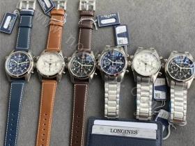 CF厂浪琴先行者L3.820.4.73.6计时腕表对比正品评测