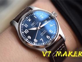 V7厂万国马克十八V2版对比正品评测