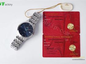 WF厂欧米茄蝶飞系列奥比斯纪念款腕表对比正品评测