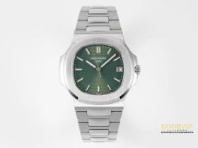 PPF厂复刻鹦鹉螺橄榄绿盘钢王腕表对比正品怎么样