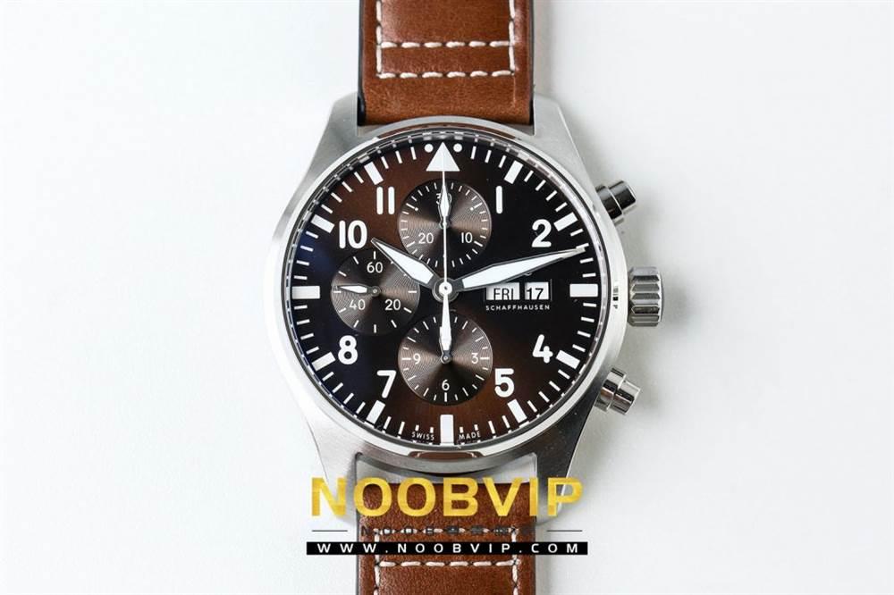 ZF复刻精品万国表飞行员系列IW377713腕表做工如何 第3张
