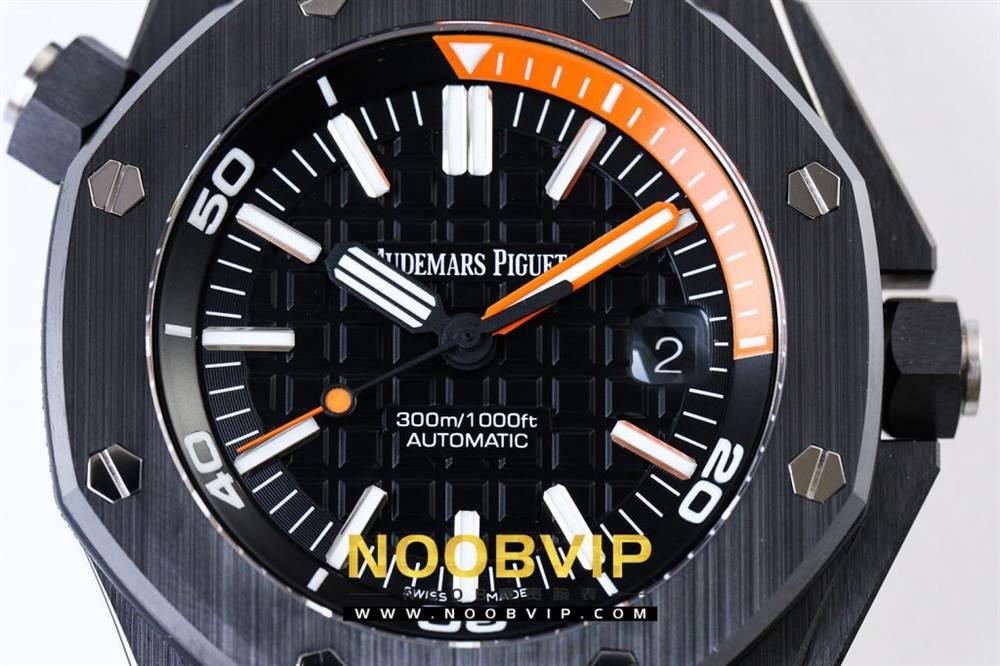 JF厂爱彼皇家橡树离岸型系列四份之一橙腕表评测 第8张