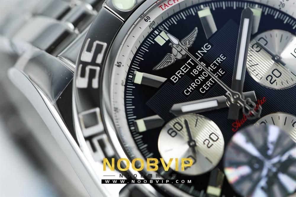 GF厂精品复刻百年灵机械计时系列Pilot飞行员AB011011/C788腕表