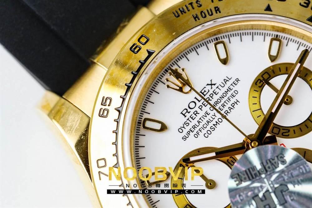 JH厂迪通拿116508金色版评测 第11张