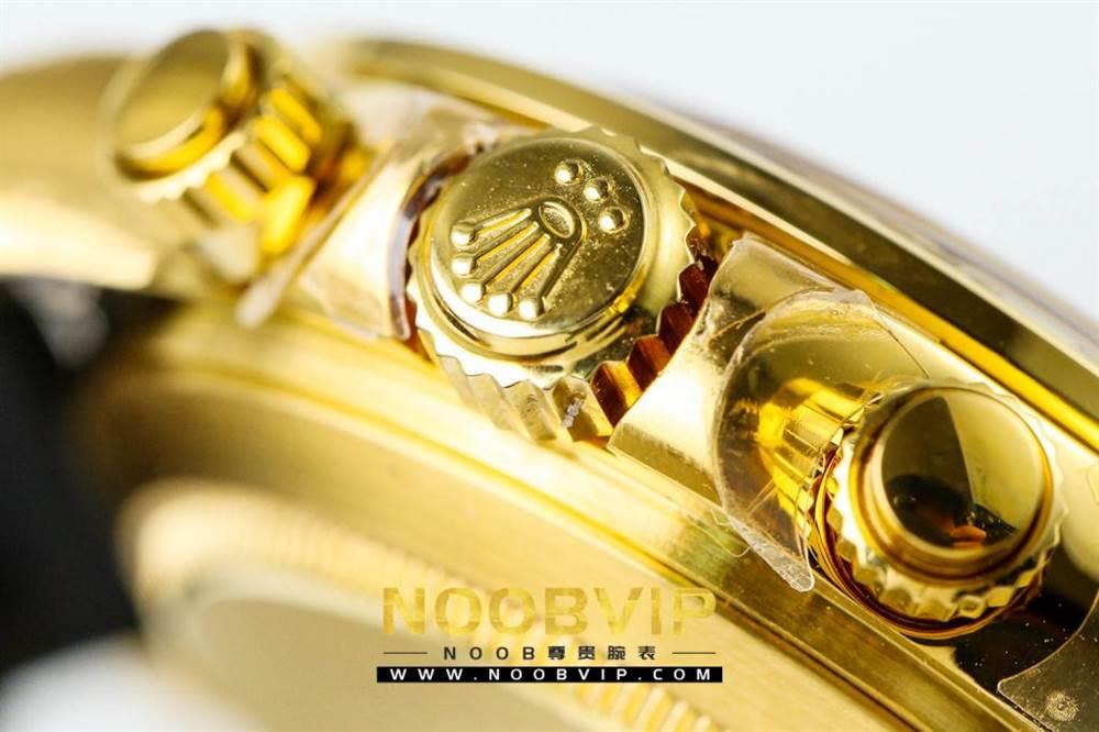 JH厂迪通拿116508金色版评测 第16张