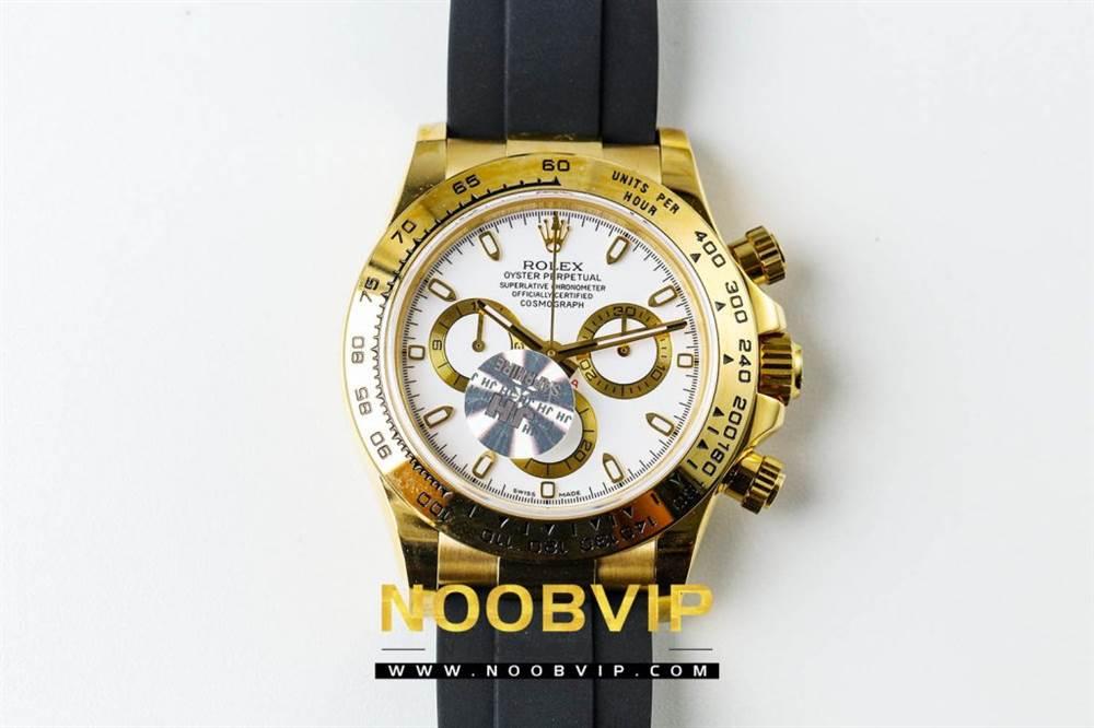 JH厂迪通拿116508金色版评测 第3张