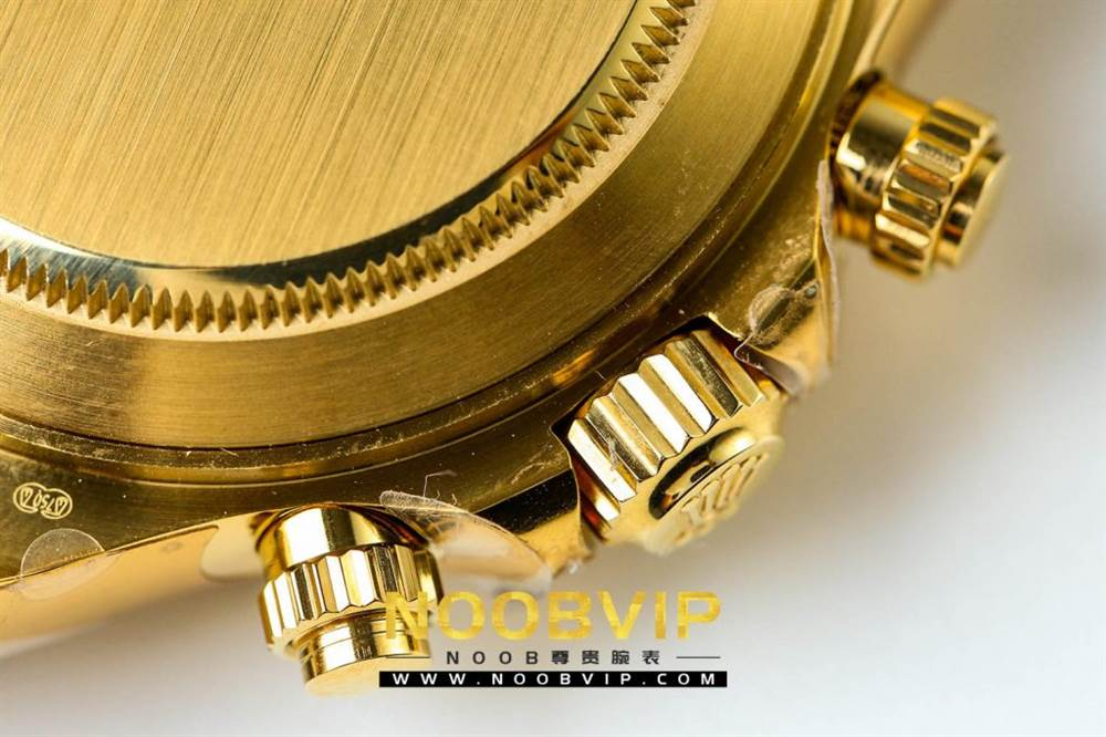 JH厂迪通拿116508金色版评测 第20张