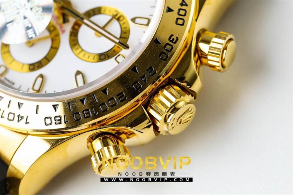 JH厂迪通拿116508金色版评测 第6张