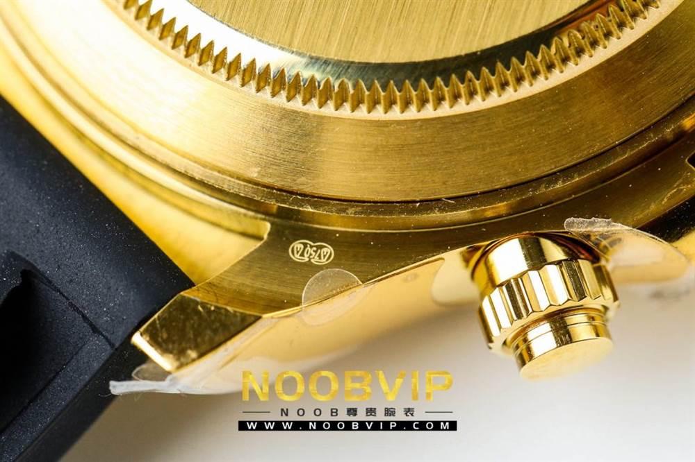 JH厂劳力士宇宙计型迪通拿系列116508黑盘镶钻时标腕表 第20张