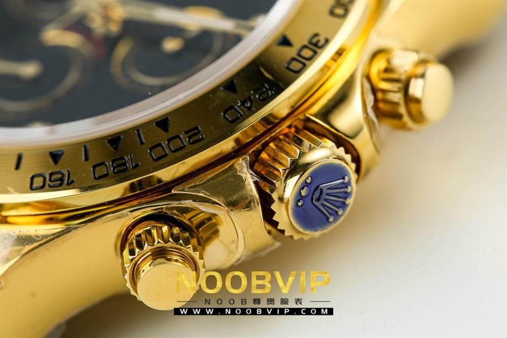 JH厂劳力士宇宙计型迪通拿系列116508黑盘镶钻时标腕表 第6张