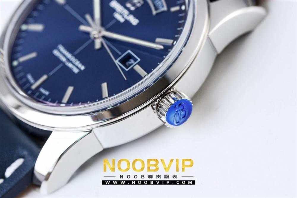 V7百年灵越洋系列(白壳蓝面)腕表 第11张