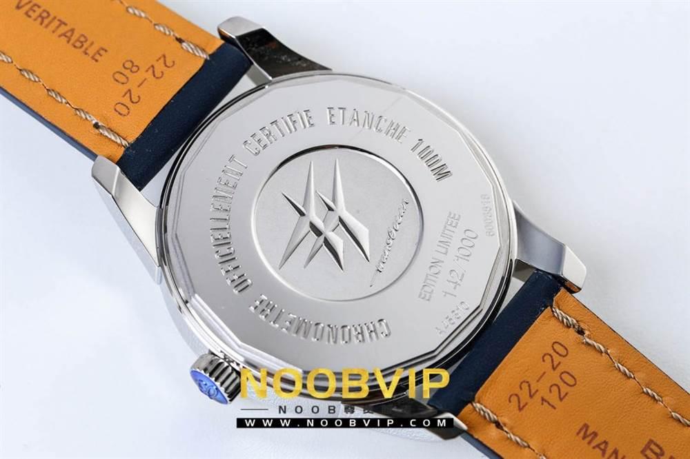 V7百年灵越洋系列(白壳蓝面)腕表 第14张