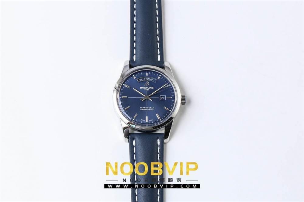 V7百年灵越洋系列(白壳蓝面)腕表 第3张