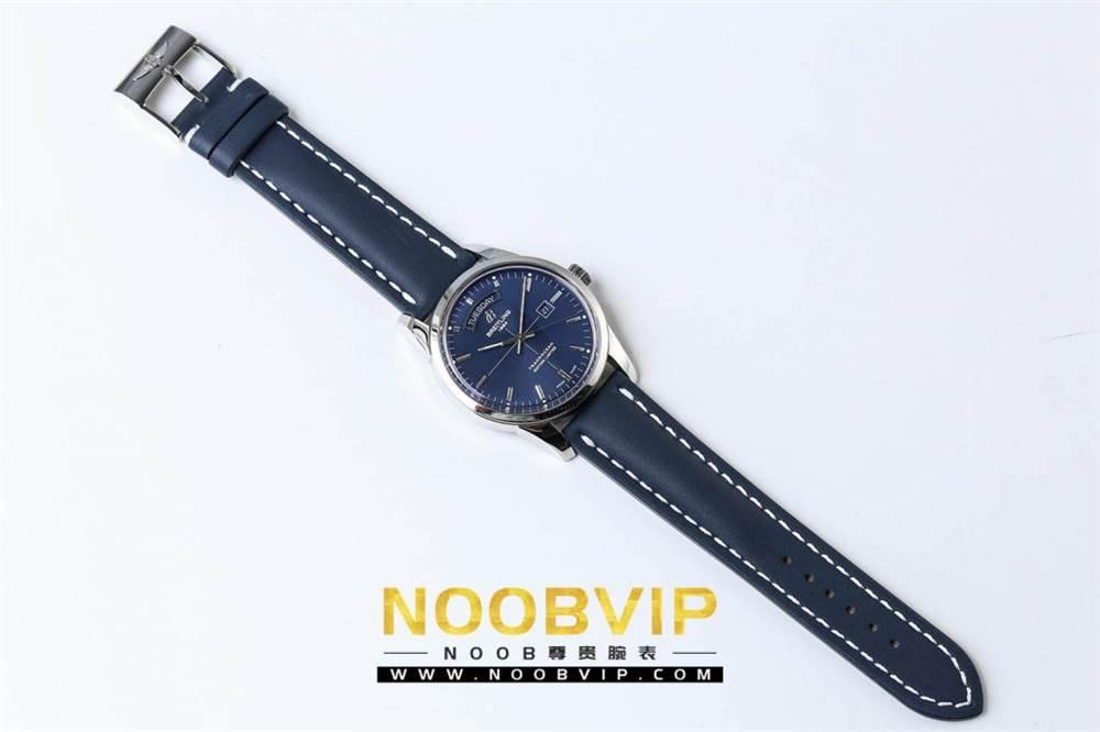 V7百年灵越洋系列(白壳蓝面)腕表 第4张