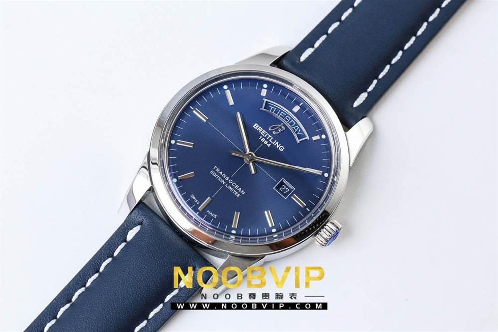 V7百年灵越洋系列(白壳蓝面)腕表 第5张