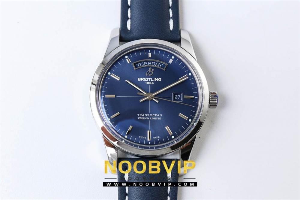 V7百年灵越洋系列(白壳蓝面)腕表 第6张