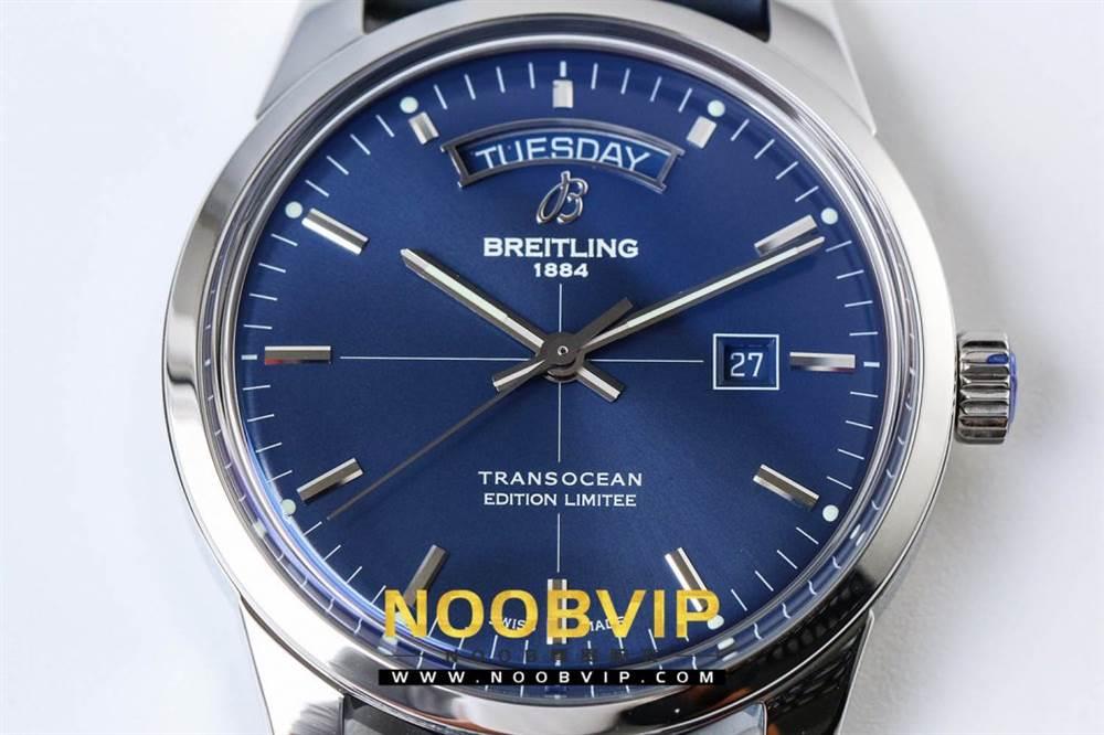 V7百年灵越洋系列(白壳蓝面)腕表 第8张