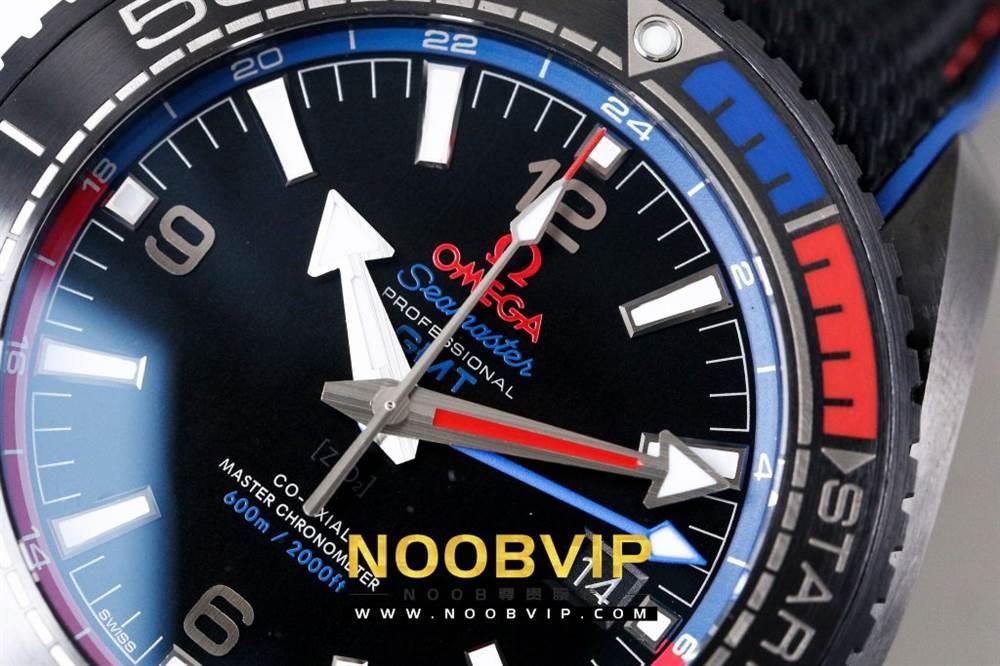 VS复刻欧米茄海马系列腕表采用新西兰国旗色调的蓝色和红色装饰 第13张