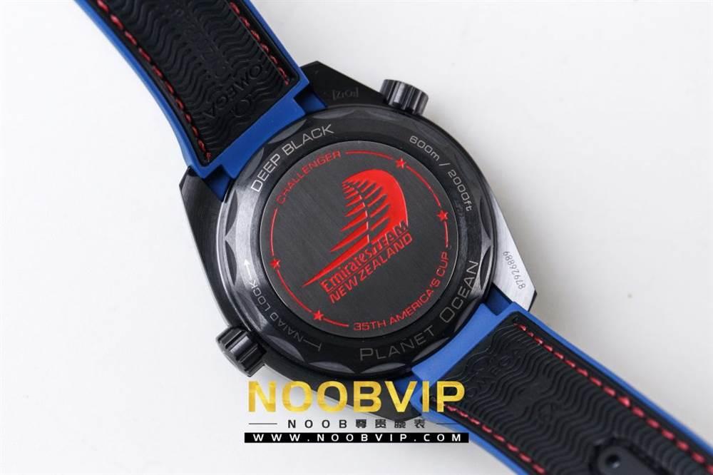 VS复刻欧米茄海马系列腕表采用新西兰国旗色调的蓝色和红色装饰 第37张