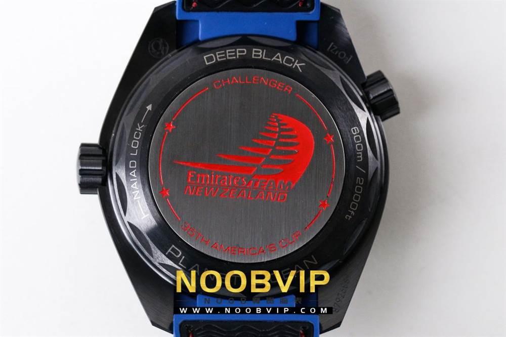 VS复刻欧米茄海马系列腕表采用新西兰国旗色调的蓝色和红色装饰 第38张