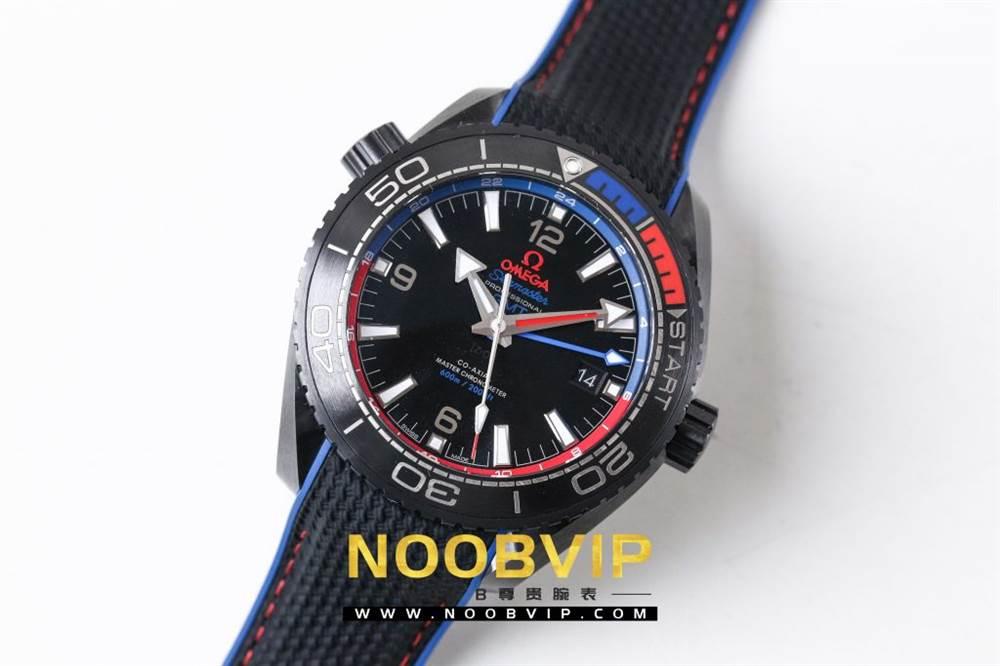 VS复刻欧米茄海马系列腕表采用新西兰国旗色调的蓝色和红色装饰 第6张