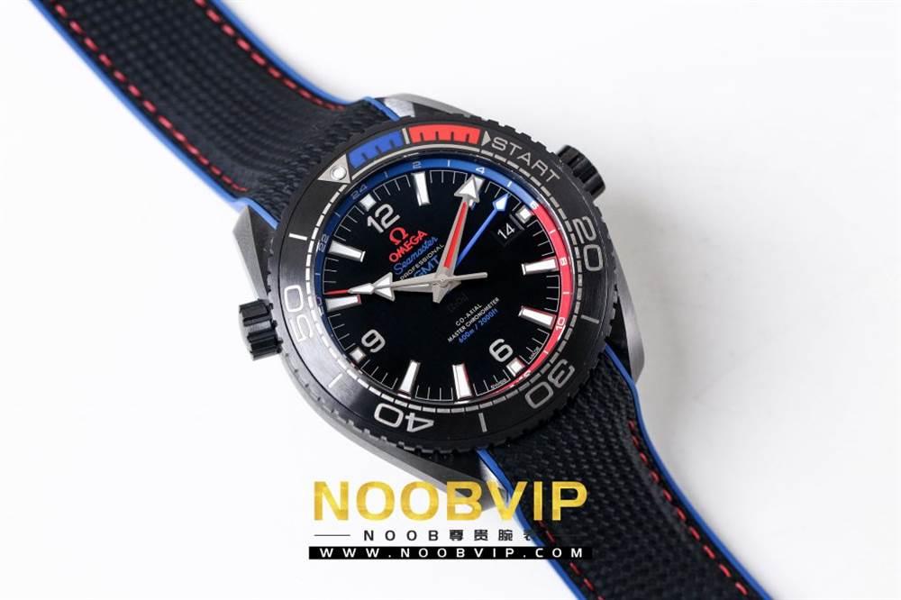 VS复刻欧米茄海马系列腕表采用新西兰国旗色调的蓝色和红色装饰 第8张