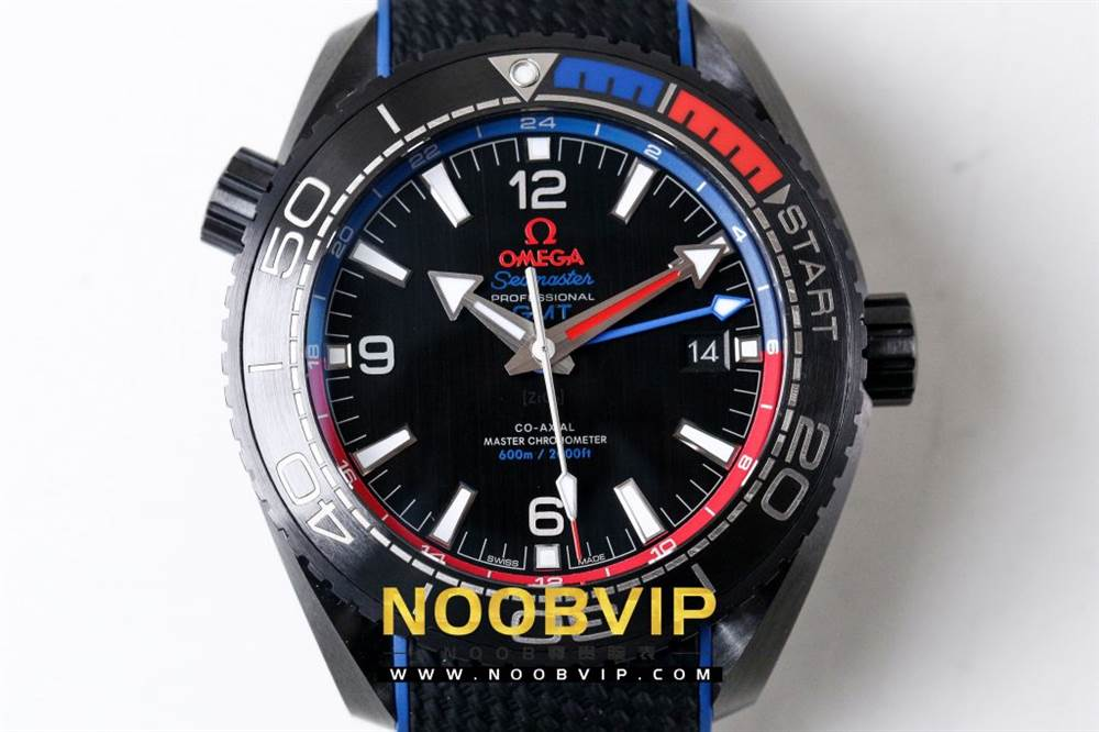 VS复刻欧米茄海马系列腕表采用新西兰国旗色调的蓝色和红色装饰 第9张
