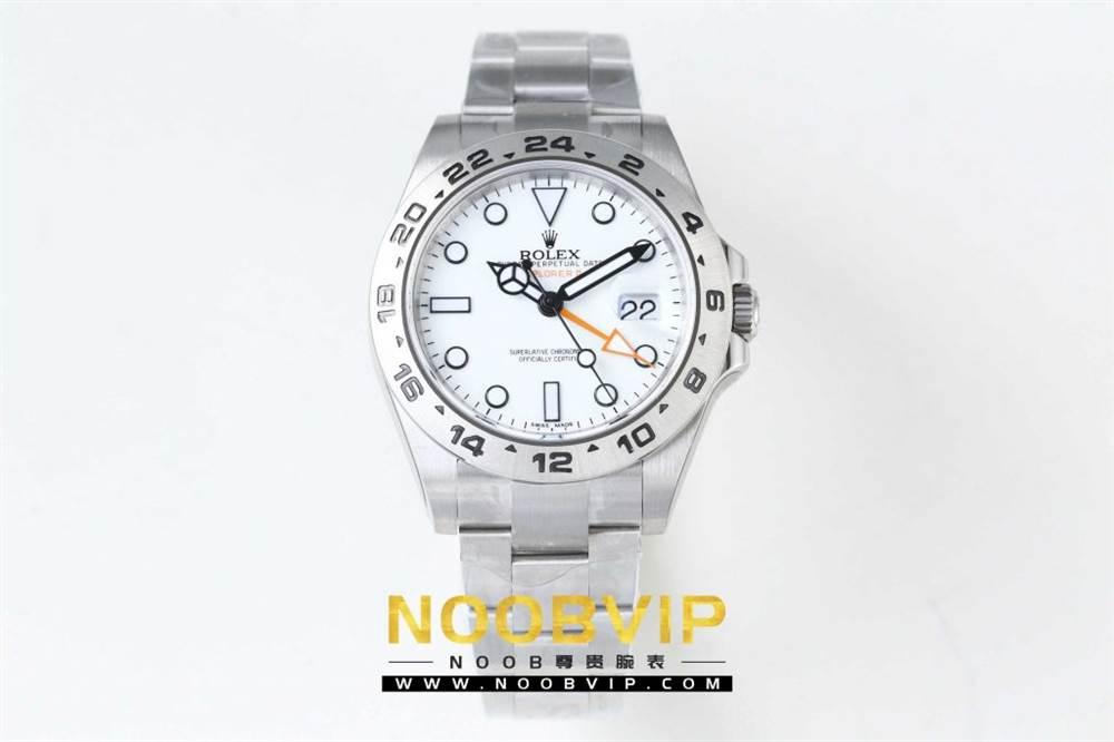 N厂升级款劳力士探险家型II系列「216570-77210」白盘腕表 第2张