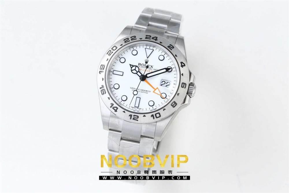 N厂升级款劳力士探险家型II系列「216570-77210」白盘腕表 第4张