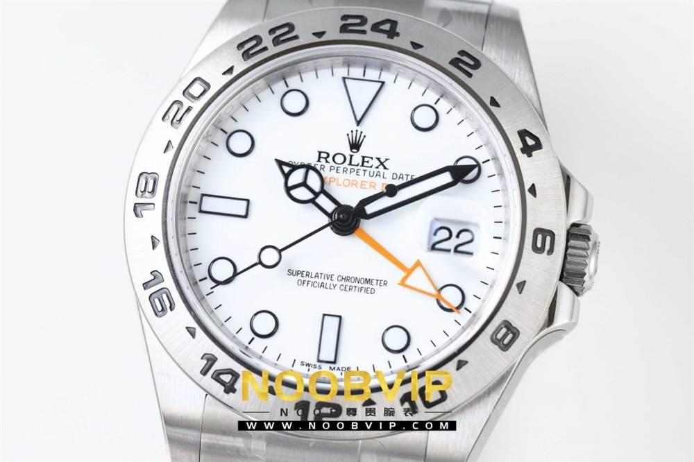N厂升级款劳力士探险家型II系列「216570-77210」白盘腕表 第5张