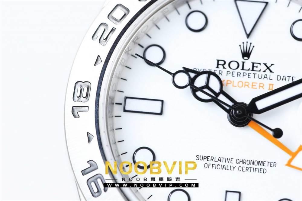 N厂升级款劳力士探险家型II系列「216570-77210」白盘腕表 第8张
