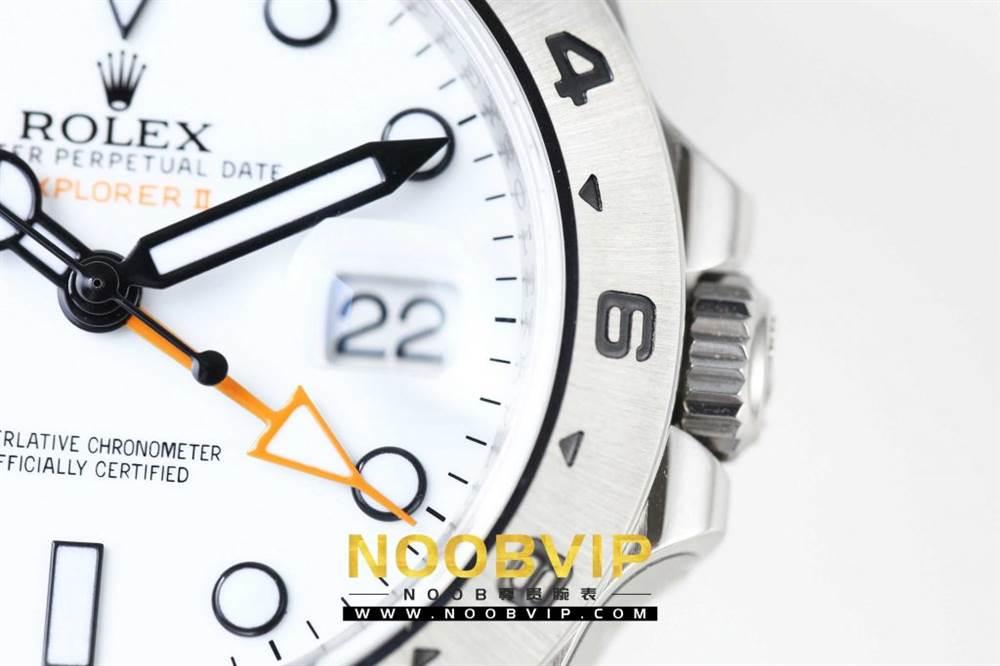 N厂升级款劳力士探险家型II系列「216570-77210」白盘腕表 第9张