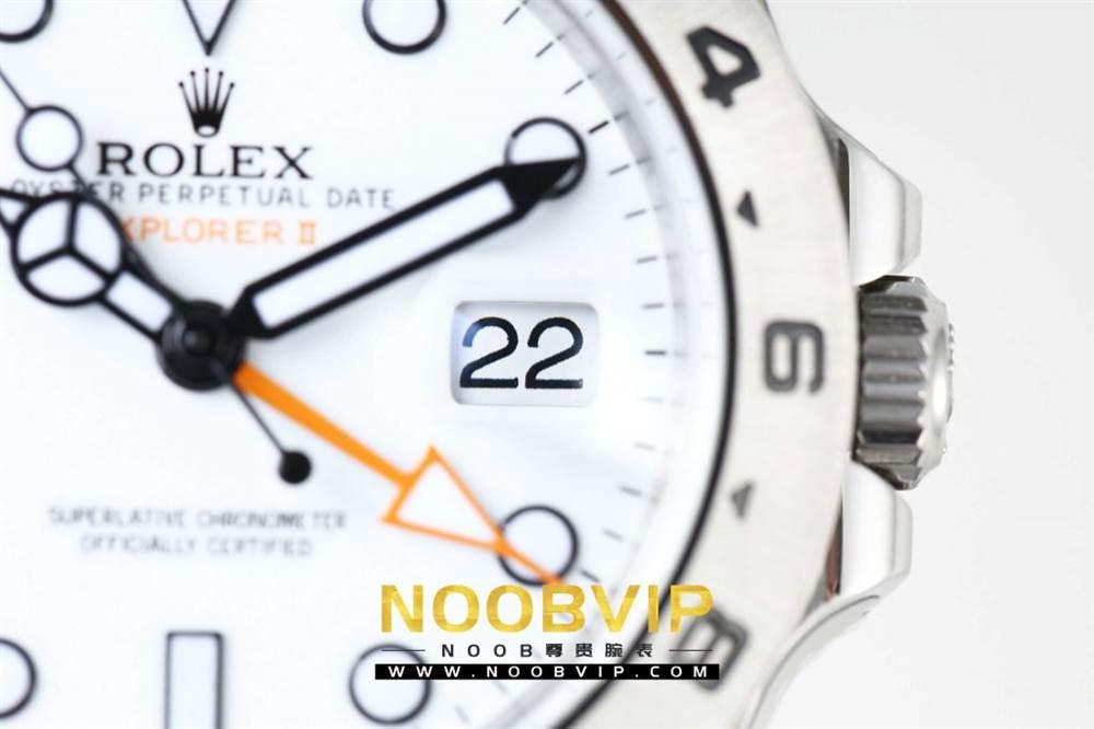 N厂升级款劳力士探险家型II系列「216570-77210」白盘腕表 第10张