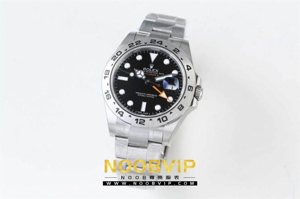 N厂劳力士探险家型系列216570-77210 黑盘复刻腕表做工如何