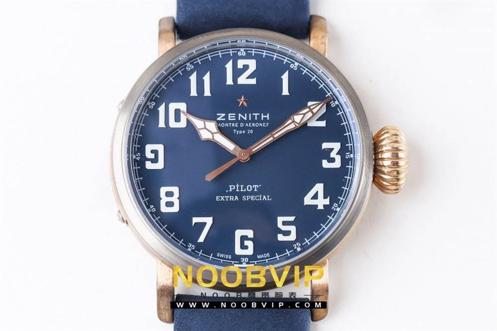 XF厂真力时飞行员系列29.1940.679/57.C808腕表