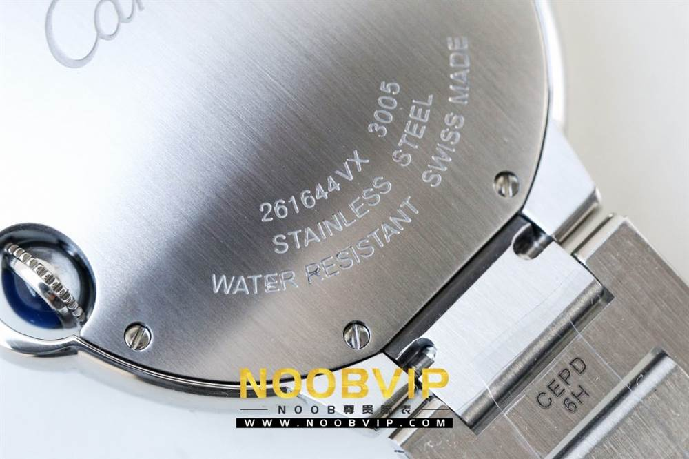 V6厂卡地亚蓝气球系列W69011Z4腕表36MM评测-石英机芯最高复刻版本 第28张