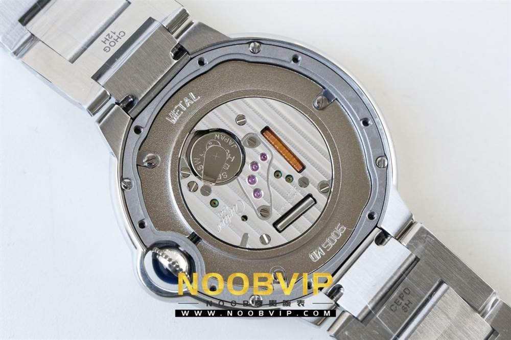 V6厂卡地亚蓝气球系列W69011Z4腕表36MM评测-石英机芯最高复刻版本 第38张