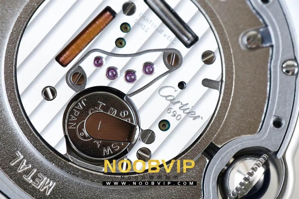 V6厂卡地亚蓝气球系列W69011Z4腕表36MM评测-石英机芯最高复刻版本 第40张