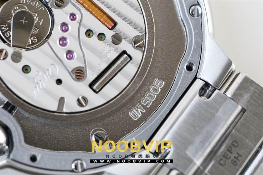 V6厂卡地亚蓝气球系列W69011Z4腕表36MM评测-石英机芯最高复刻版本 第44张