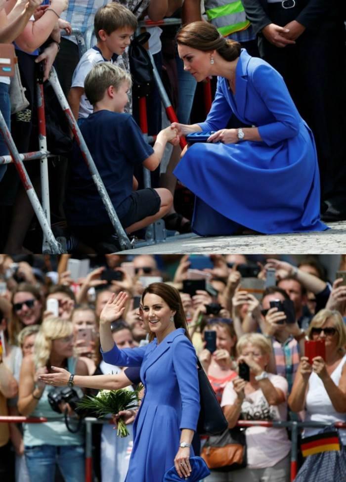"""""""勤俭持家""""的小姐姐-凯特王妃佩戴卡地亚蓝气球 第10张"""